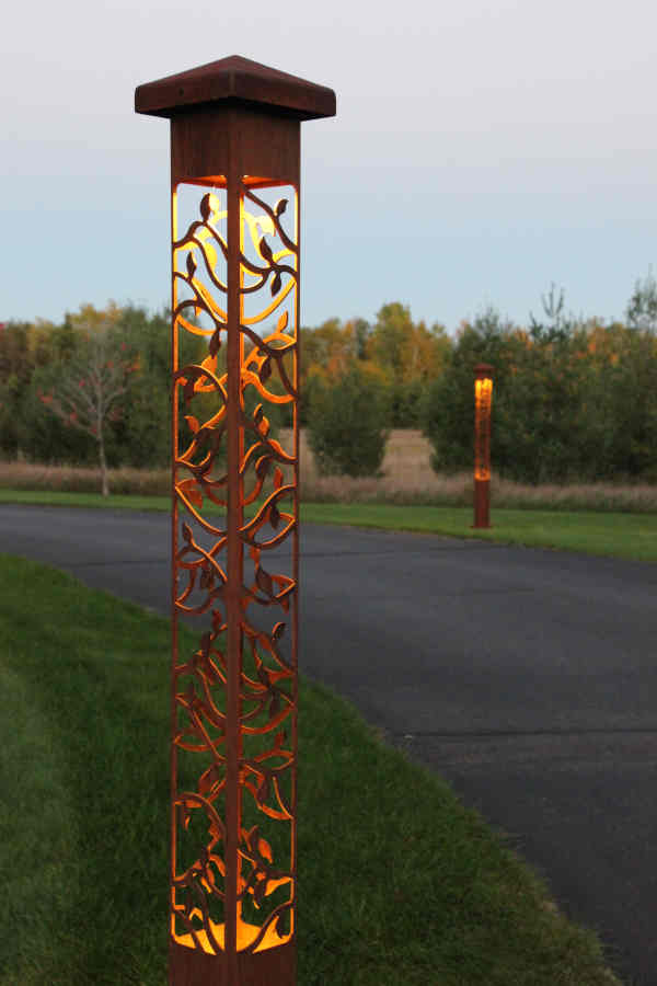 Attraction Lights Driveway Lighting Project Study